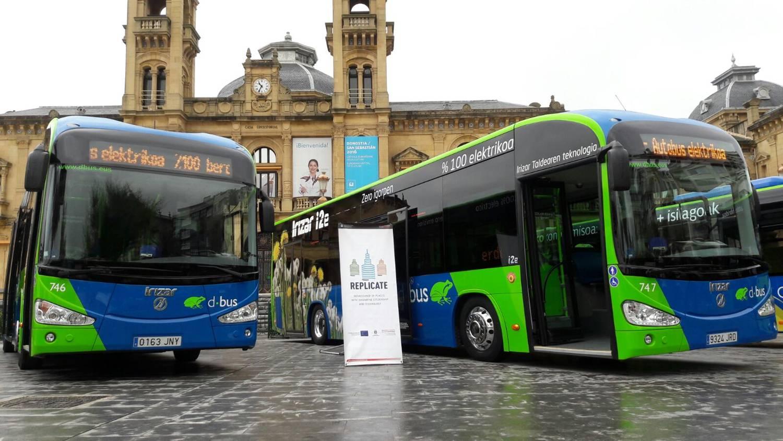 Mobility e-buses San Sebastian Replicate