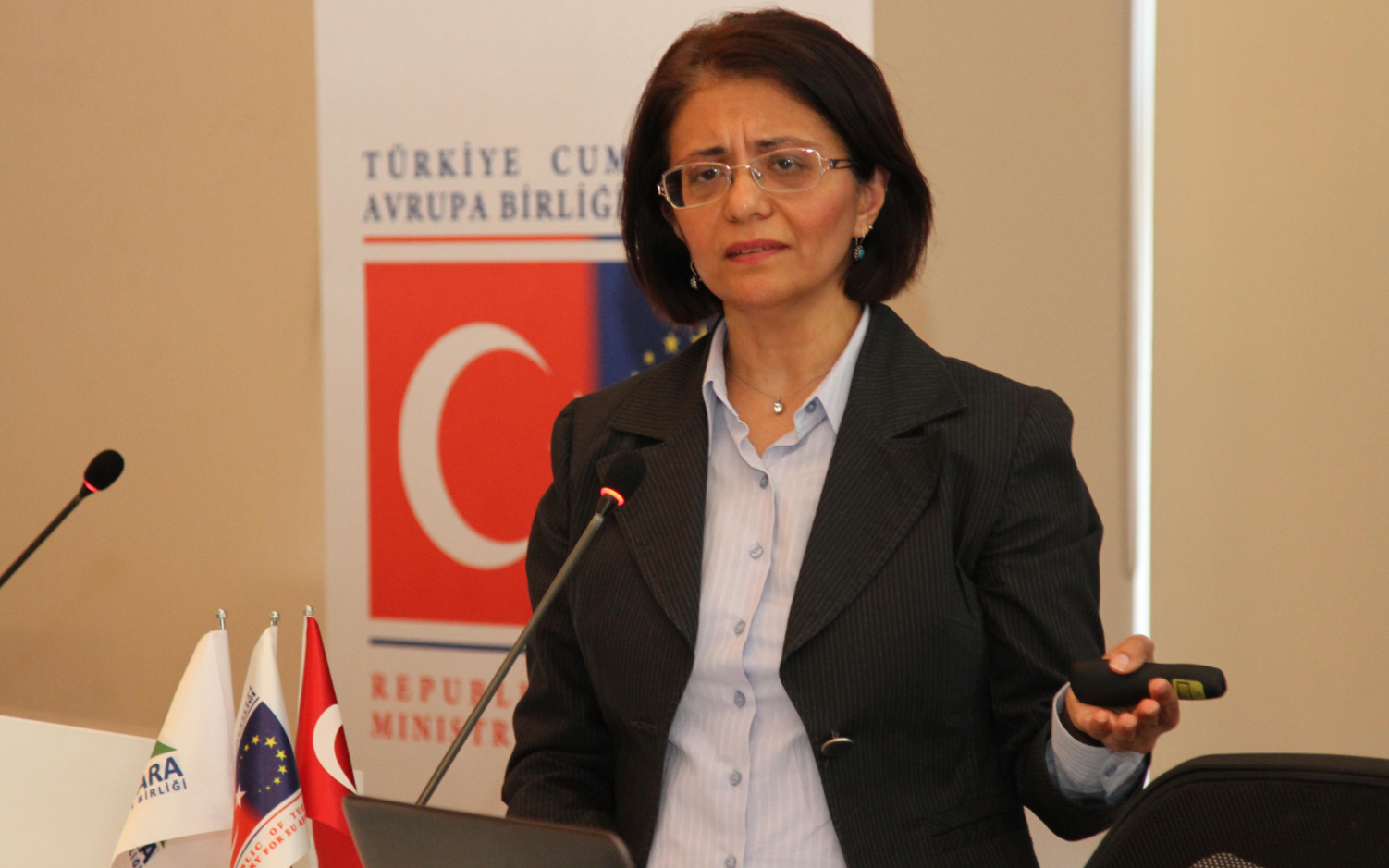 Nilüfer Representative Esra Özkul at Horizon 2020