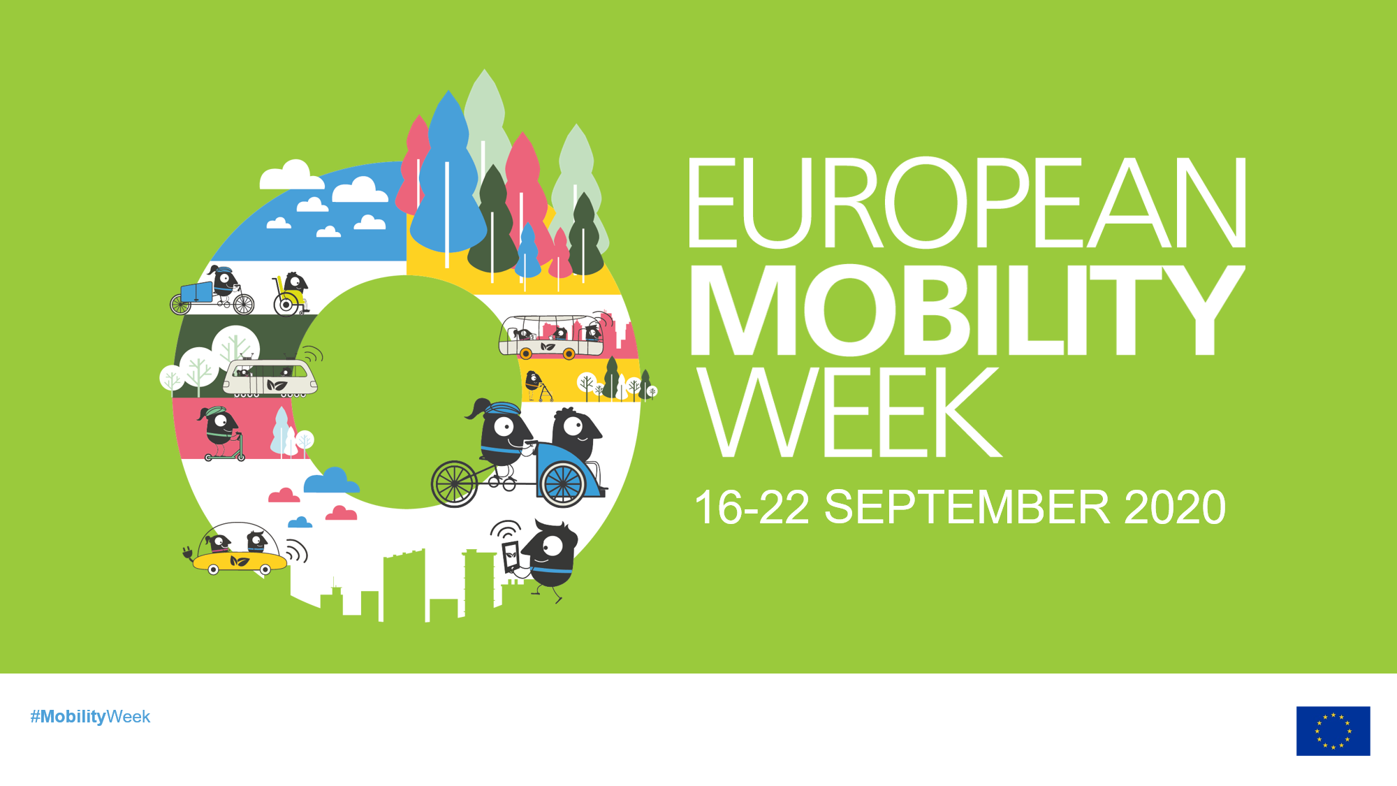 Smart Cities celebrate the European Mobility Week with the hashtag #WeMoveSmart